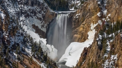"I have personally never seen a waterfall bigger than this one in the ""Grand Canyon of Yellowstone."""
