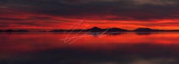 Salt Lake Sunset 1