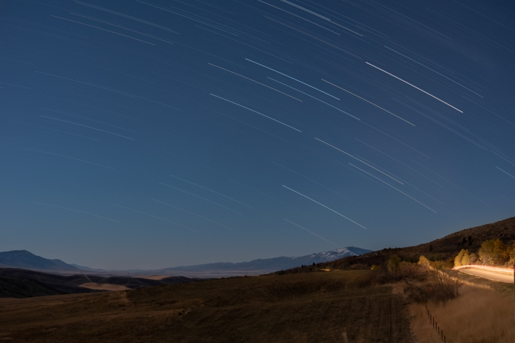 Crystal Summit Startrail